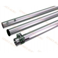 Мачта алюминиевая составная, диаметр 35мм, колено 1,5м, ДЛИНА 4,5м