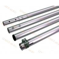 Мачта алюминиевая составная, диаметр 35мм, колено 1,5м, ДЛИНА 6м