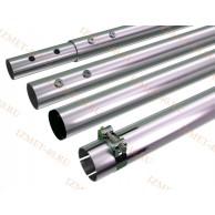 Мачта алюминиевая составная, диаметр 50мм, колено 1,5м, ДЛИНА 6м