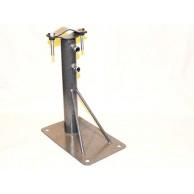 Кронштейн телескоп для мачт 30/50 прямоугольная пятка