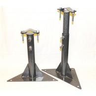 Кронштейн телескоп для мачт 30/50 треугольник