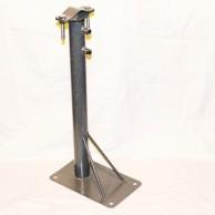 Кронштейн телескоп для мачт 50/90 прямоугольная пятка
