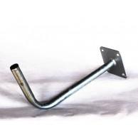 Кронштейн эфирный 30см гнутый труба 22 оцинкованный