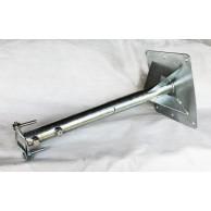 Кронштейн телескоп для мачт 50/90 пятка 250 оцинкованный